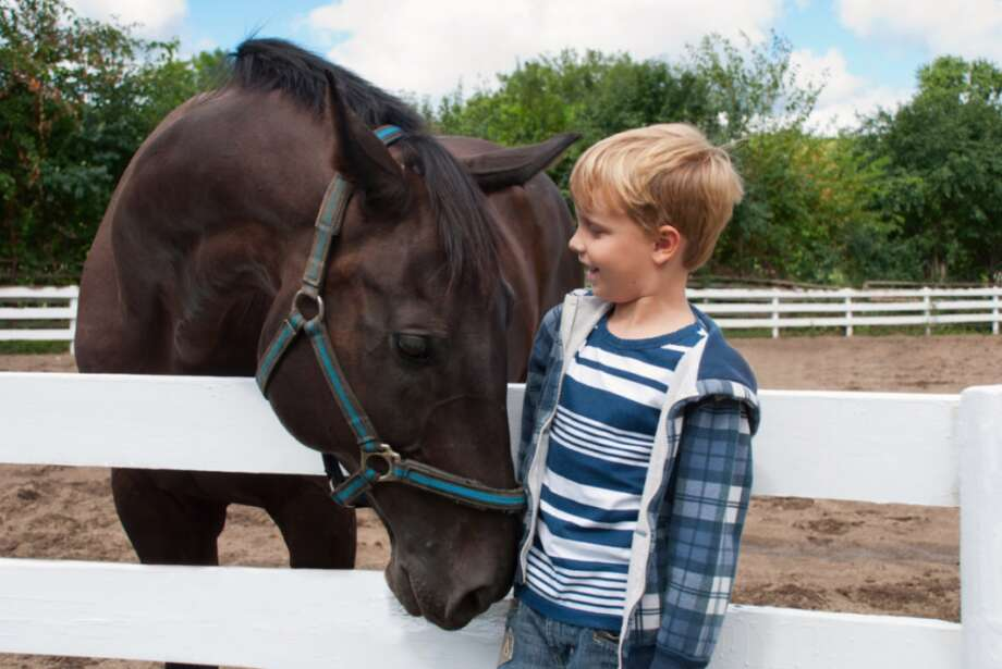 A horseback riding program at Mead Farm, is part of Darien Parks & Rec's offerings.