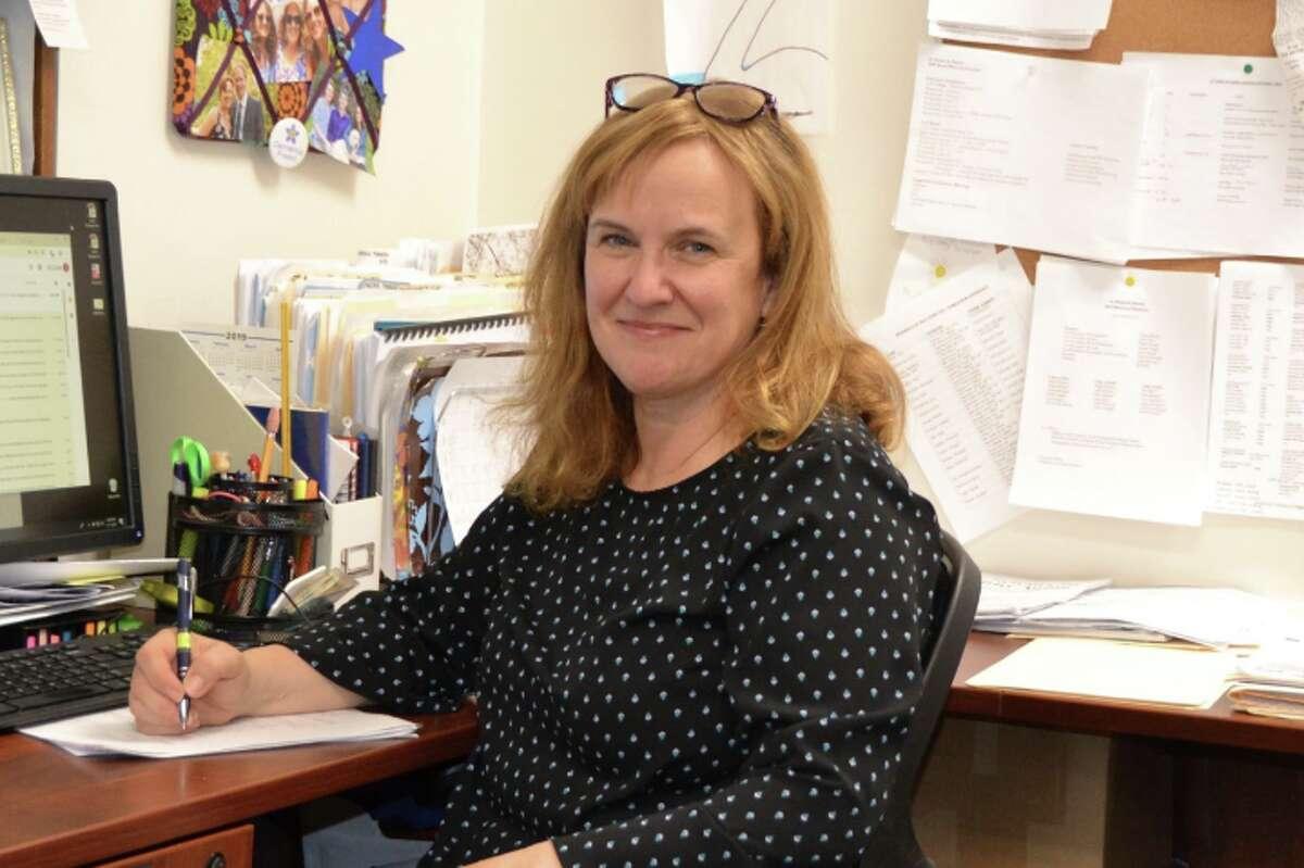 Gina Blum, executive director of At Home in Darien