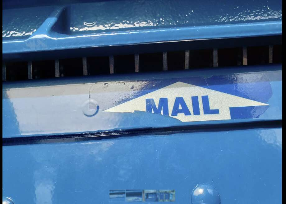 Darien post offices at Heights Road and Corbin Drive get new mailboxes with steel teeth, in response to thefts — Sandra Diamond Fox photo