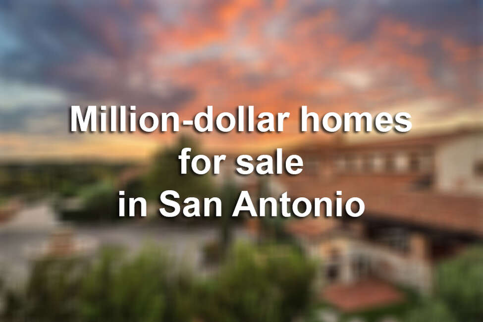 Click through the slideshow to see some of the most luxurious San Antonio homes on the market.