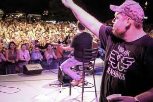 Y100 Bud Light Big Reveal brought in record-breaking county artist Luke Combs to a surprise a crowd at John T. Floore Country Store on June 19, 2019.