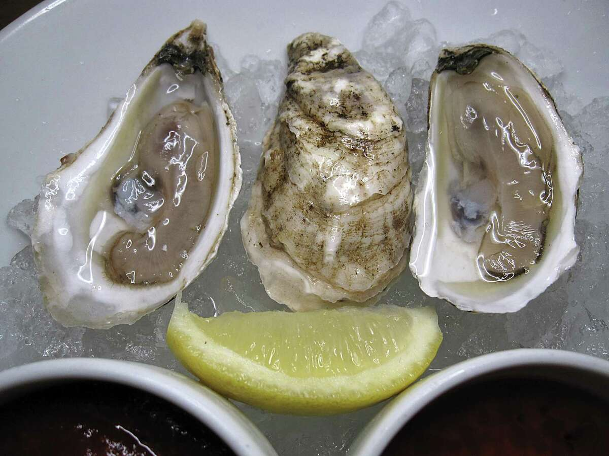 Fans of Silo Terrace Oyster bar on the North Side rave about their oyster selection, wine pairings and overall exceptional, friendly service. Osprey Point oysters pictures here are just one of the varieties available.