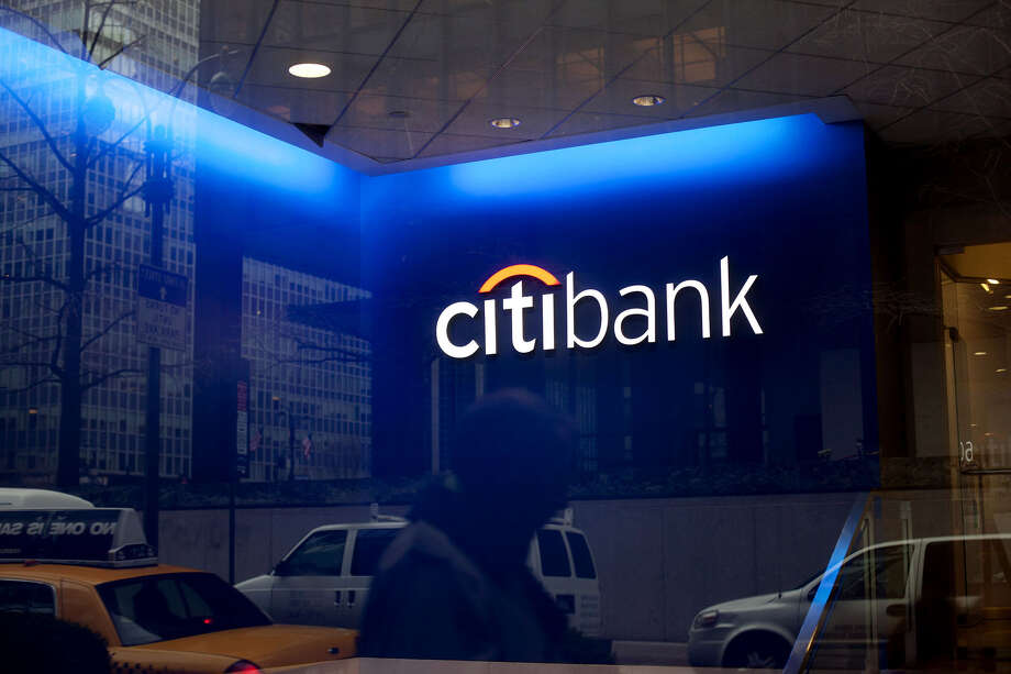 A man walks past Citigroup offices in New York. Photo: Bloomberg Photo By Victor J. Blue / Bloomberg