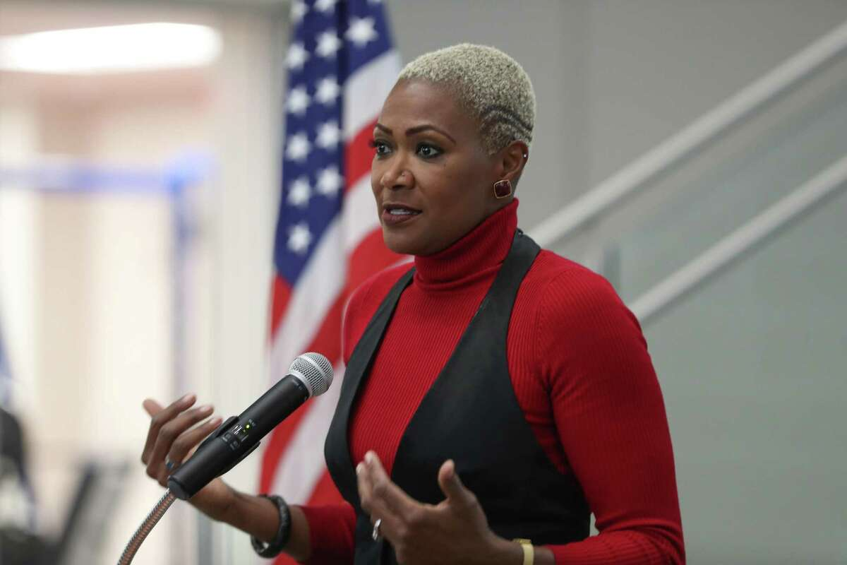 Houston ISD Trustee Jolanda Jones, shown here in January 2019, has opted not to seek reelection to the district board.