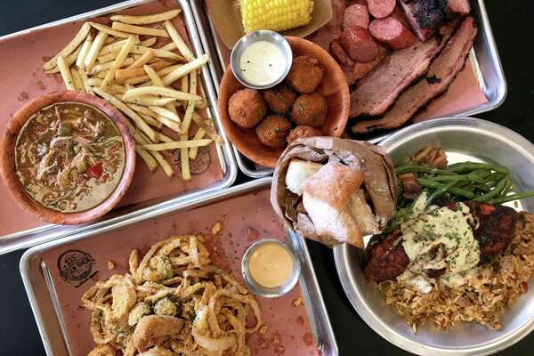 A selection of menu items from 225 Urban Smoke