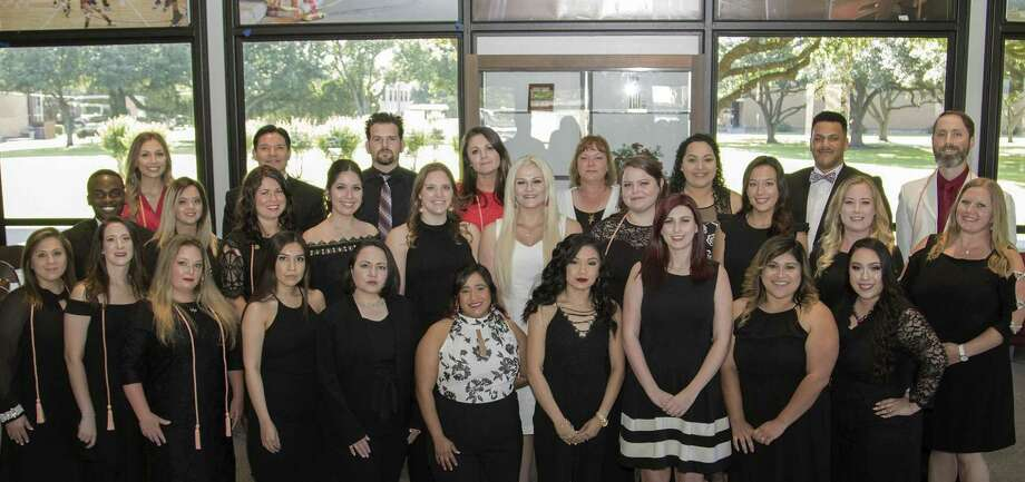 Twenty-eight students recently earned their Associate of Applied Science Degree in Nursing from Wharton County Junior College. Photo: Wharton County Junior College