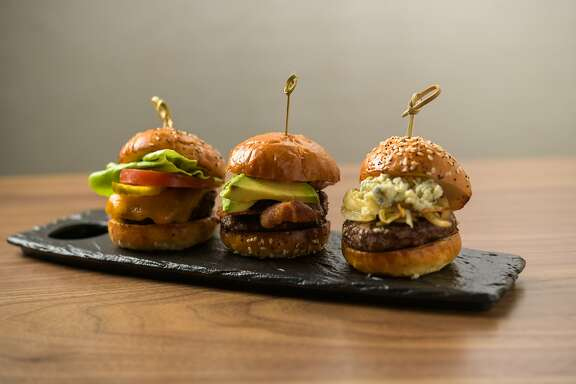In addition to seafood, Sheraton Fisherman's Wharf hotel restaurant Northpoint serves bar food classics like sliders.