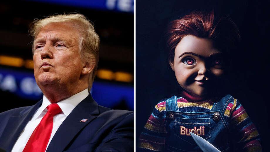 Photo: Trump: Rex/Shutterstock