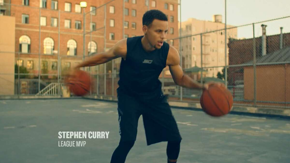 Steph Curry starred in a 2015Muscle Milk commercialfilmed on thebasketball court perched on the side of theCameron House in San Francisco's Chinatown