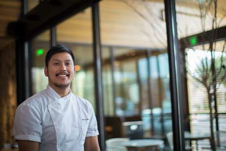 Chef de cuisine Gabriel Medina at Aqui at the restaurant in Houston, Thursday, Jan. 25, 2018, in Houston.