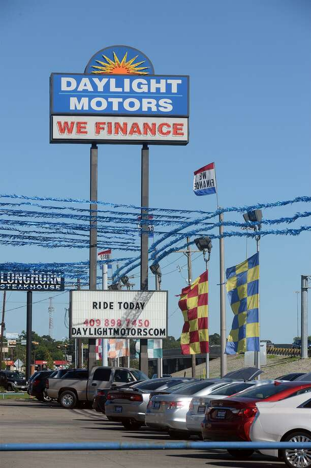 The U.S. Department of Justice seized $5.7 million in property from locally owned Daylight Motors stemming from a sports gambling investigation that begin in 2014  Photo taken Monday, May 01, 2017 Guiseppe Barranco/The Enterprise Photo: Guiseppe Barranco, Photo Editor / Guiseppe Barranco/The Enterprise