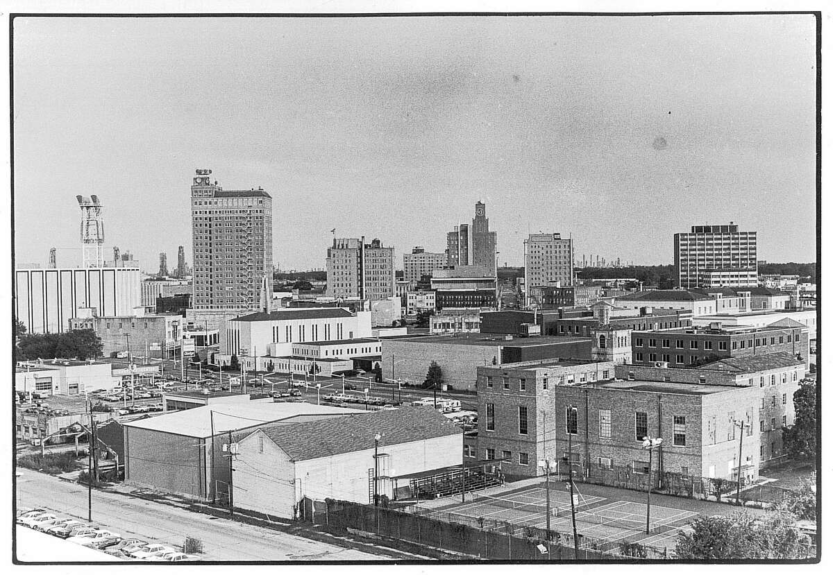 HISTORICAL PHOTOS OF DOWNTOWN BEAUMONT An undated photo of downtown Beaumont. Enterprise Archive Photo
