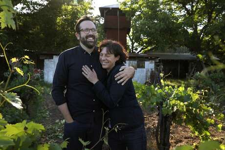 For his first vintages, Matt Morris enlisted Realm winemaker Benoit Touquette to help him make the wines, but he now works with renowned winemaker Francoise Peschon, formerly of Araujo. Photo: Liz Hafalia / The Chronicle