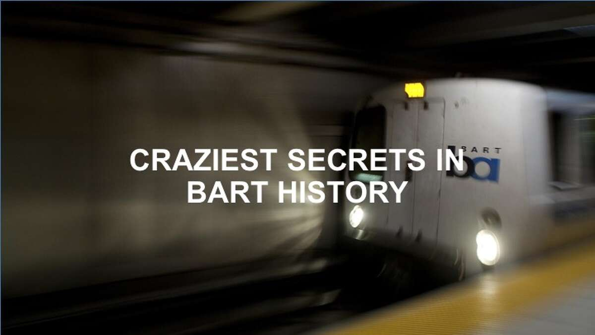 Here are some of the craziest BART secrets.