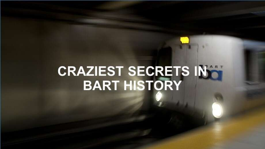 Here are some of the craziest BART secrets. Photo: Stephen Lam/The Chronicle