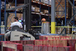 Dot Foods hosted the its national Forklift Rodeo championship Thursday.