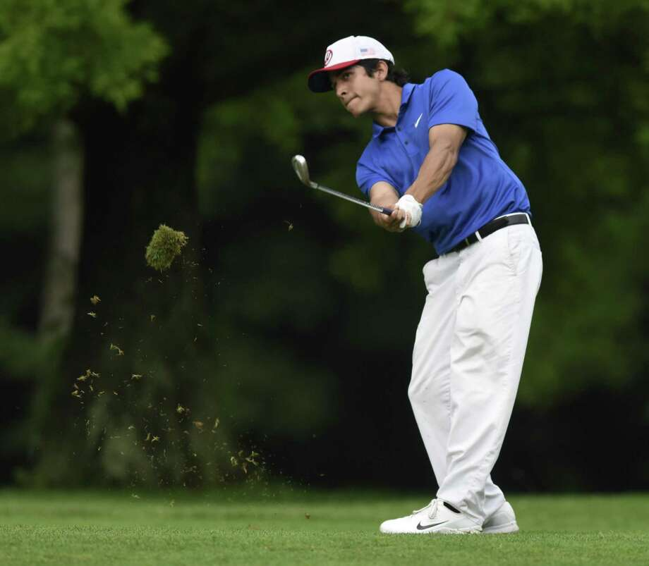 Jason Morilla will try to win his third straight Townwide flight title this weekend Greenwich Men's Town Golf Tournament held at Griffith E. Harris Golf Course. Photo: Tyler Sizemore / Hearst Connecticut Media / Greenwich Time