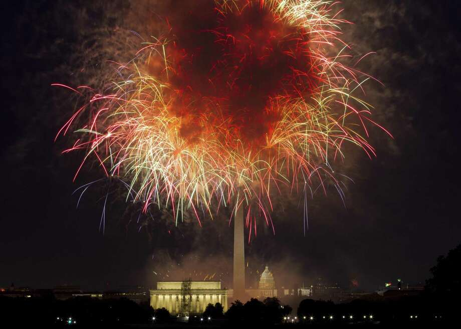 Independence Day is imminent, and nobody seems to know exactly what the July 4 celebrations in the nation's capital will look like, thanks to President Donald Trump's reimagining of the event.. Photo: Jose Luis Magana /Associated Press / Copyright 2018 The Associated Press. All rights reserved