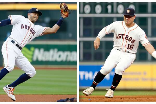 Neither Carlos Correa nor Aledmys Diaz will return to the Astros before the All-Star break, manager A.J. Hinch revealed Thursday.
