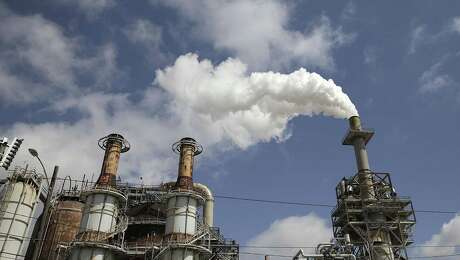 Valero refinery photographed on Thursday, March 29, 2018, in Houston. The plant was one of those statewide that reported the largest releases of benzene during Hurricane Harvey. ( Elizabeth Conley / Houston Chronicle )
