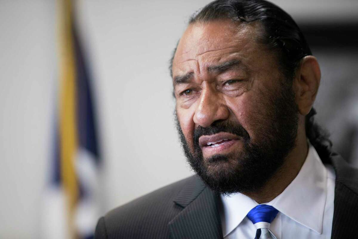 Congressman Al Green, R-Houston, shown in a 2018 photo, has called again for the impeachment of President Donald Trump after two mass shootings that left nearly 30 people dead. Green spoke in Houston on Monday, Aug. 5, 2019.