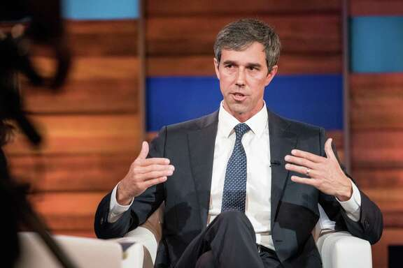 CHARLESTON, SC - JUNE 15: Democratic presidential candidate and former U.S. Rep. Beto O'Rourke participates in the Black Economic Alliance Forum at the Charleston Music Hall on June 15, 2019 in Charleston, South Carolina. The Black Economic Alliance, is a nonpartisan group founded by Black executives and business leaders, and is hosting the forum in order to help Black voters understand the candidate's platforms. (Photo by Sean Rayford/Getty Images)