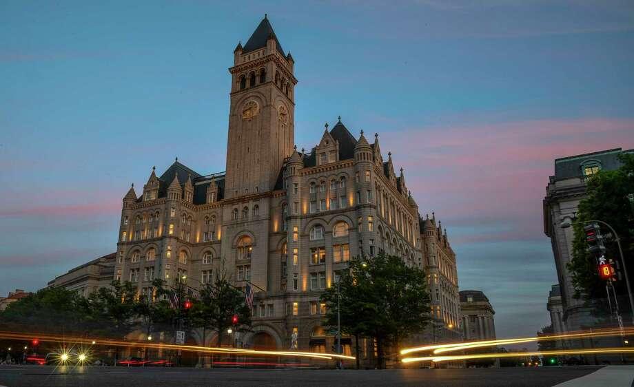 The Trump International Hotel in Washington. Photo: Washington Post Photo By Jonathan Newton. / The Washington Post