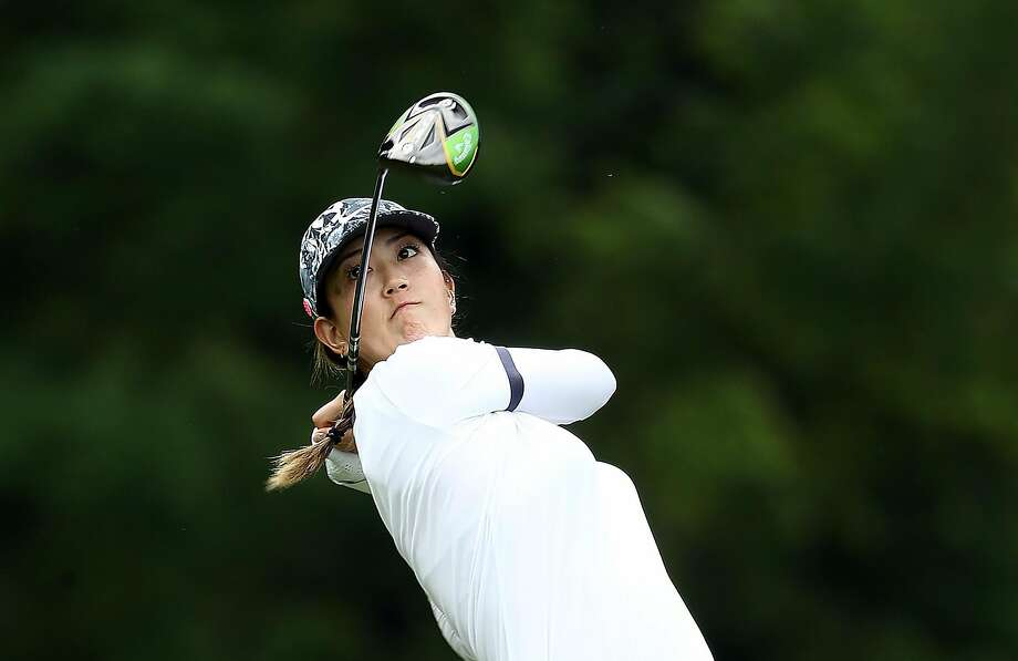 CHASKA, MINNESOTA - JUNE 20:  Michelle Wie hits her first shot on the 15th hole during the first round of the KPMG Women's PGA Championship at Hazeltine National Golf Course on June 20, 2019 in Chaska, Minnesota. (Photo by Jamie Squire/Getty Images) Photo: Jamie Squire, Getty Images