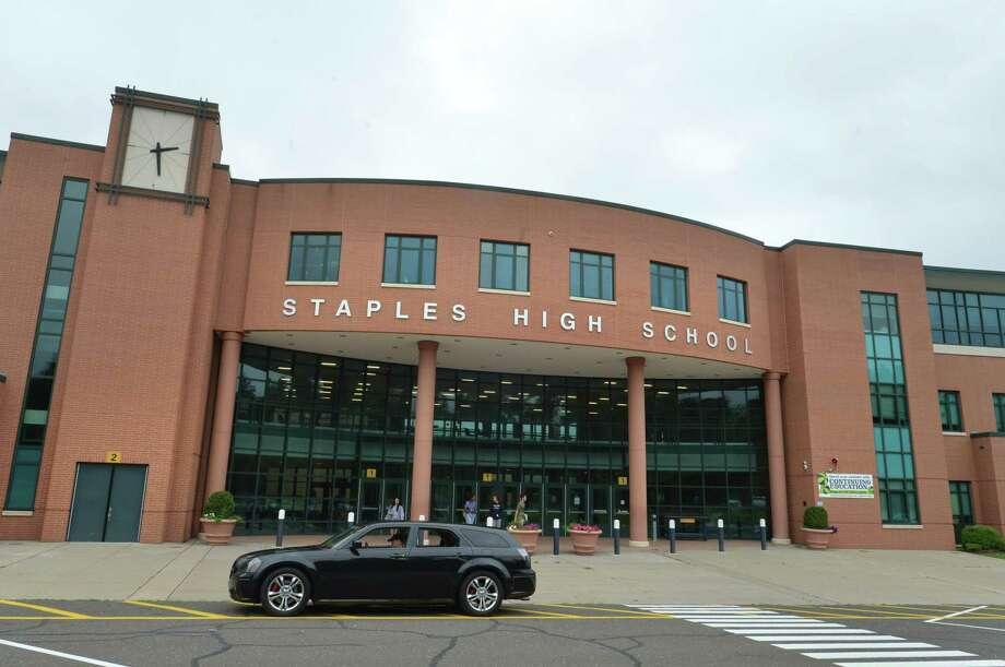 Staples High School on Wednesday July 25, 2018 in Westport Conn. Photo: Alex Von Kleydorff / Hearst Connecticut Media / Norwalk Hour