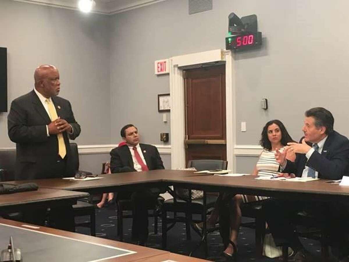 El alcalde Pete Sáenz visitó Washington D.C. para externar su apoyo al Tratado entre México, Estados Unidos y Canadá (T-MEC). El acuerdo aún espera la consideración de los legisladores de Estados Unidos y Canadá.