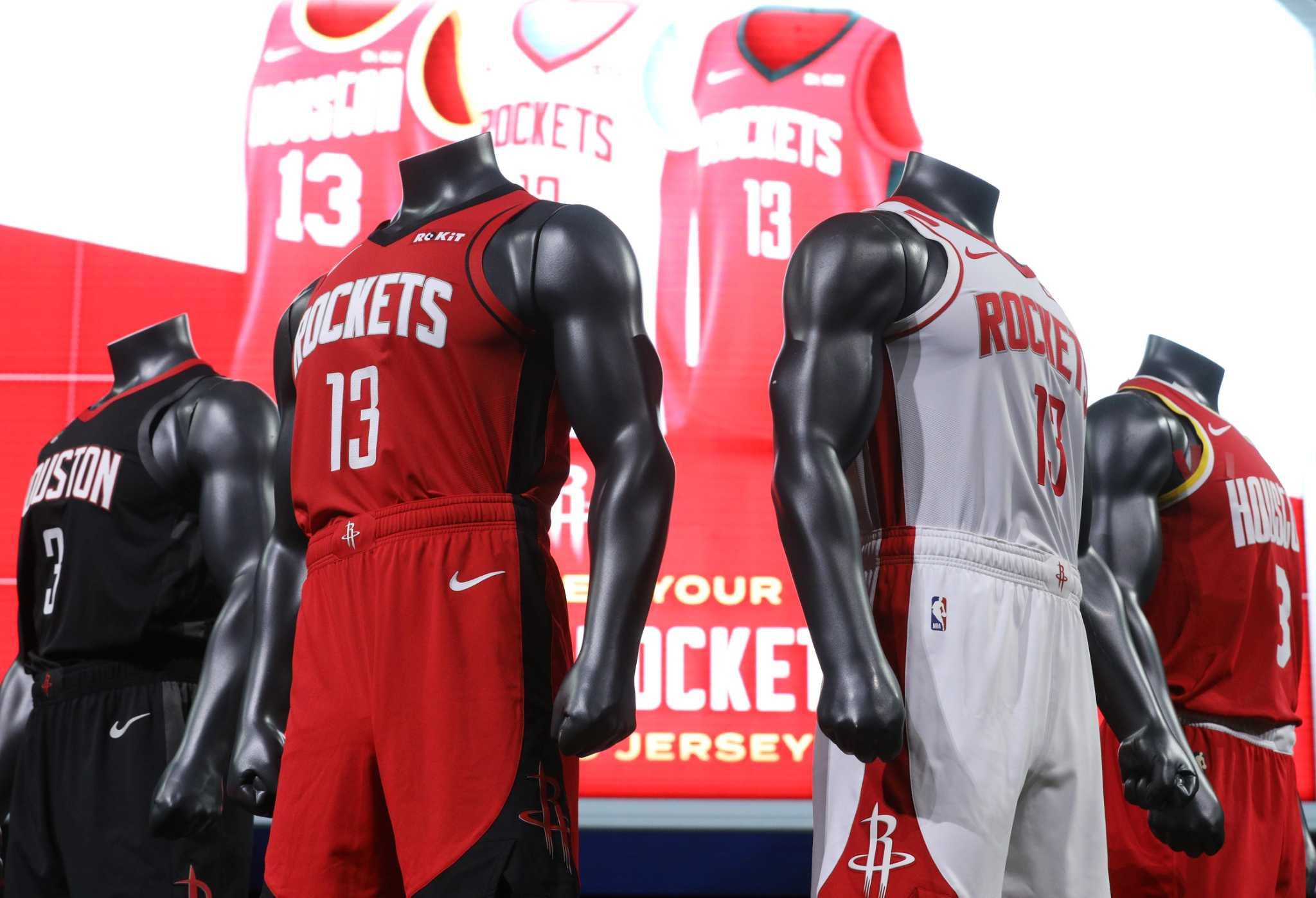 New Rockets uniforms unveiled - HoustonChronicle.com
