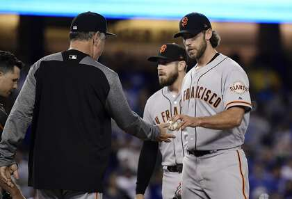 Giants lose 9-8 after Madison Bumgarner knocked out by Max Muncy's Dodgers