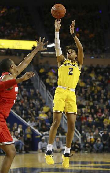 competitive price a7eea 5261e Michigan guard Jordan Poole, Warriors' No. 28 pick, is 'an ...