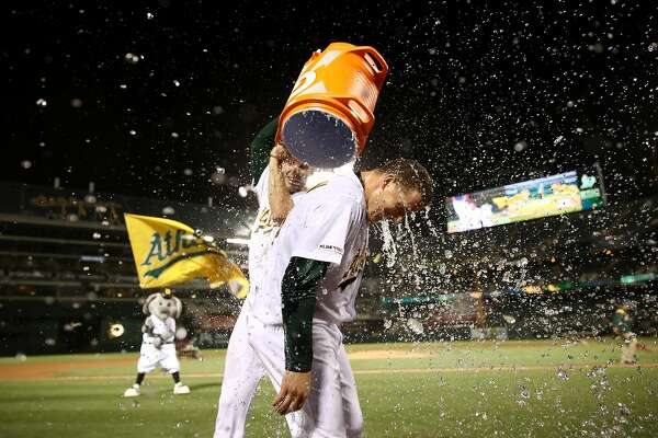 Behind the A's power surge that set a franchise record for home runs