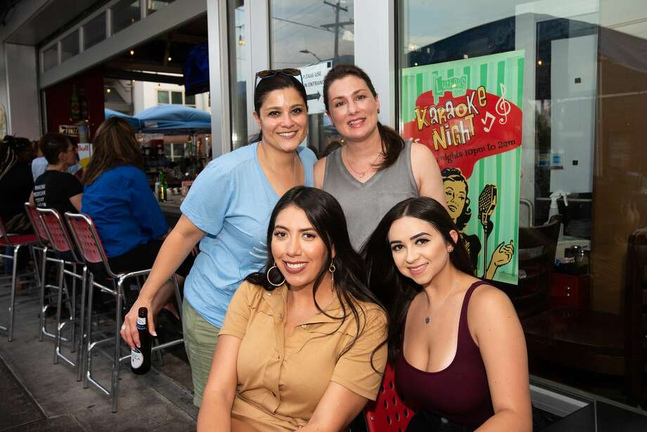 'Ladies were on the loose' at Luther's Cafe Thursday night for pride month. Photo: Aiessa Ammeter
