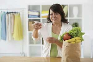 Groceries are among an average American's top monthly expenses.