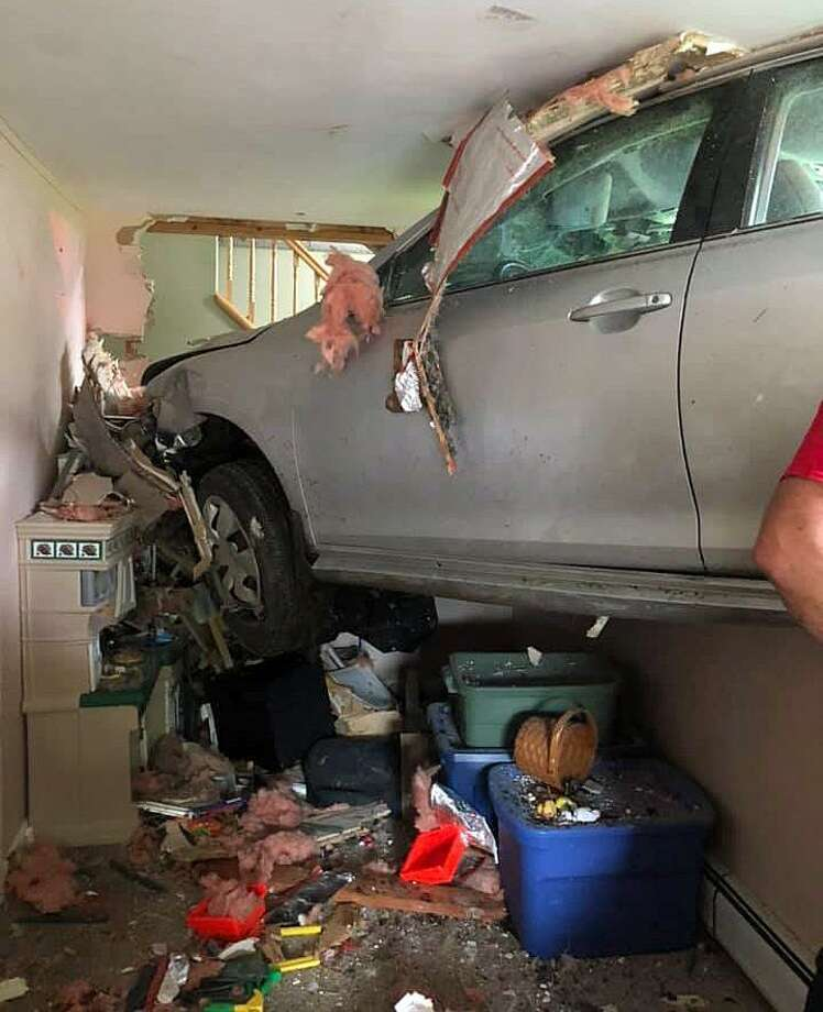 Car Crashes Into Sandy Hook Home
