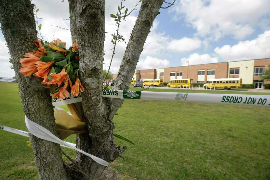 Ten died and another 13 were injured in the 2018 shooting at Santa Fe High School. Photo: Melissa Phillip, Staff / Houston Chronicle / © 2018 Houston Chronicle