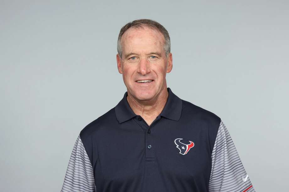 This is a photo of Jim Bernhardt of the Houston Texans NFL football team. This image reflects the Houston Texans active roster as of Wednesday, May 24, 2017. (AP Photo) Photo: AP