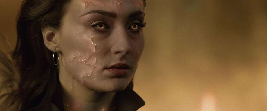 "This image released by Twentieth Century Fox shows Sophie Turner in a scene from ""Dark Phoenix."" Photo: Twentieth Century Fox Via Associated Press / TM & © 2018 Marvel & Subs. TM and © 2018 Twentieth Century Fox Film Corporation. All rights reserved. Not for sale or duplicatio"