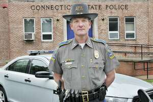 Connecticut State Police Maj. Arthur K. Goodale, commanding officer of the Eastern District headquarters, formerly led Troop F in Westbrook.