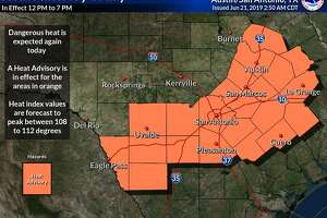 A third consecutive heat advisory was issued on June 21, 2019.