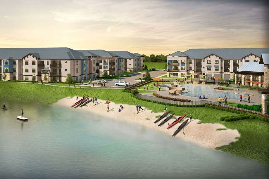 The Signorelli Company opened a luxury apartment complex called The Pointe at Valley Ranch in New Caney in early June. The complex is in walking distance to the various attractions and amenities in the Valley Ranch Town Center. Photo: Courtesy: Signorelli Company