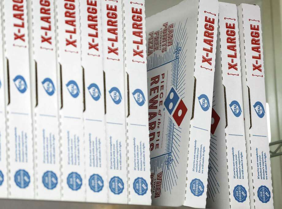 File photo of Domino's boxes. (AP Photo/Alan Diaz, File) Photo: Alan Diaz / Associated Press / Copyright 2016 The Associated Press. All rights reserved.