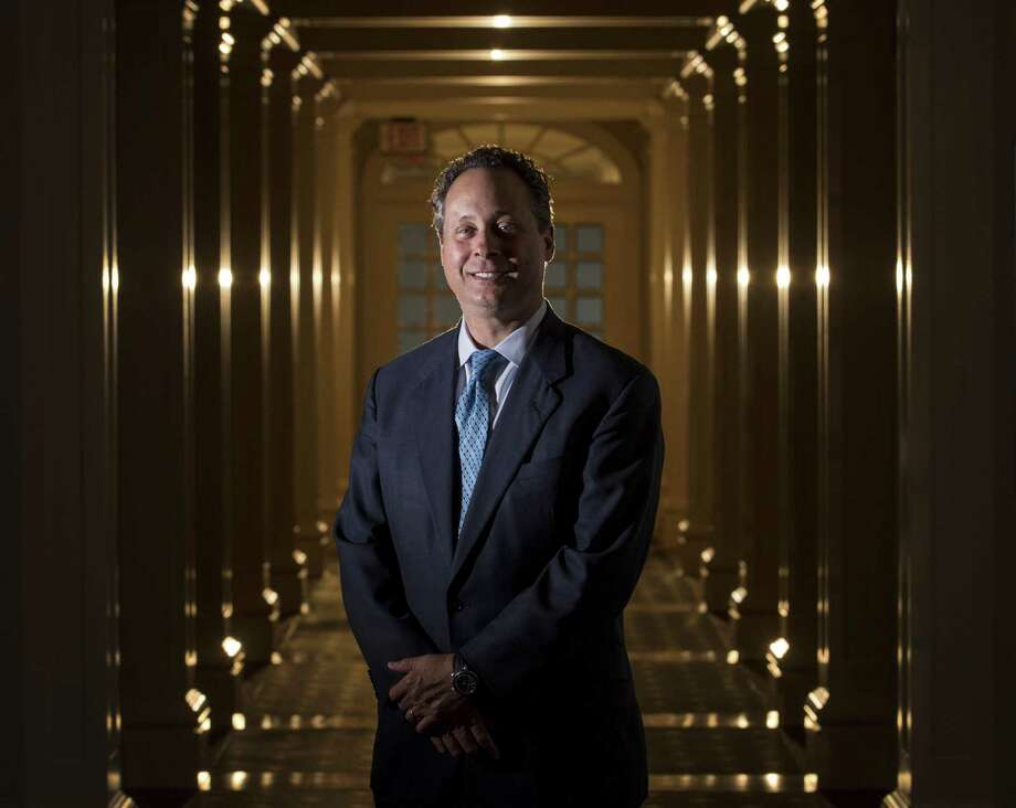 Scott Greer, of the lawfirm King and Spalding, is involved in LNG construction projects all over the world. Greer was photographed on Monday, June 17, 2019, in Houston. Photo: Jon Shapley, Houston Chronicle / Staff Photographer / © 2019 Houston Chronicle