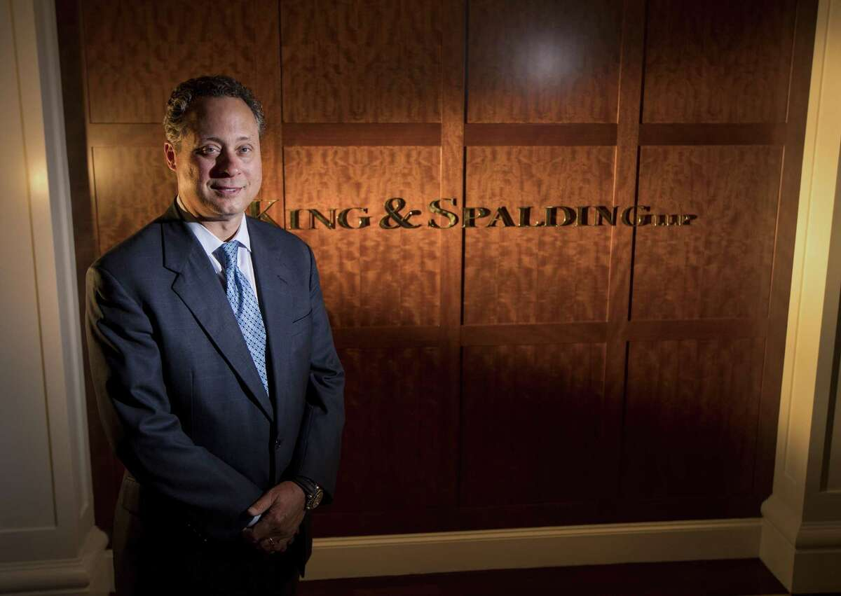 Scott Greer, of the lawfirm King and Spalding, is involved in LNG construction projects all over the world. Greer was photographed on Monday, June 17, 2019, in Houston.