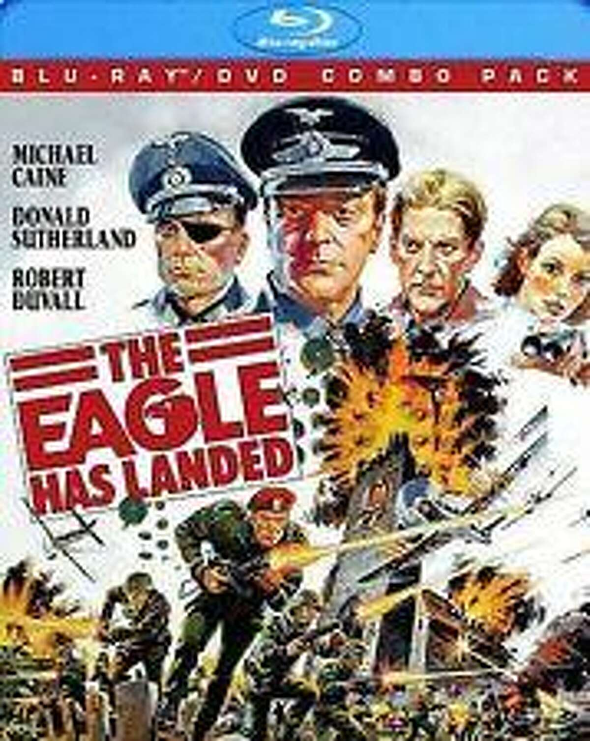 """The cover of the move, """"The Eagle Has Landed: Collector's Edition"""" on DVD."""