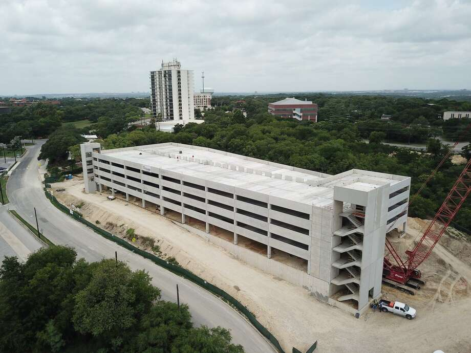 Photos from June 2019 show an updated look at the San Antonio Zoo's new parking garage which is expected to open in October. Photo: Courtesy, San Antonio Zoo