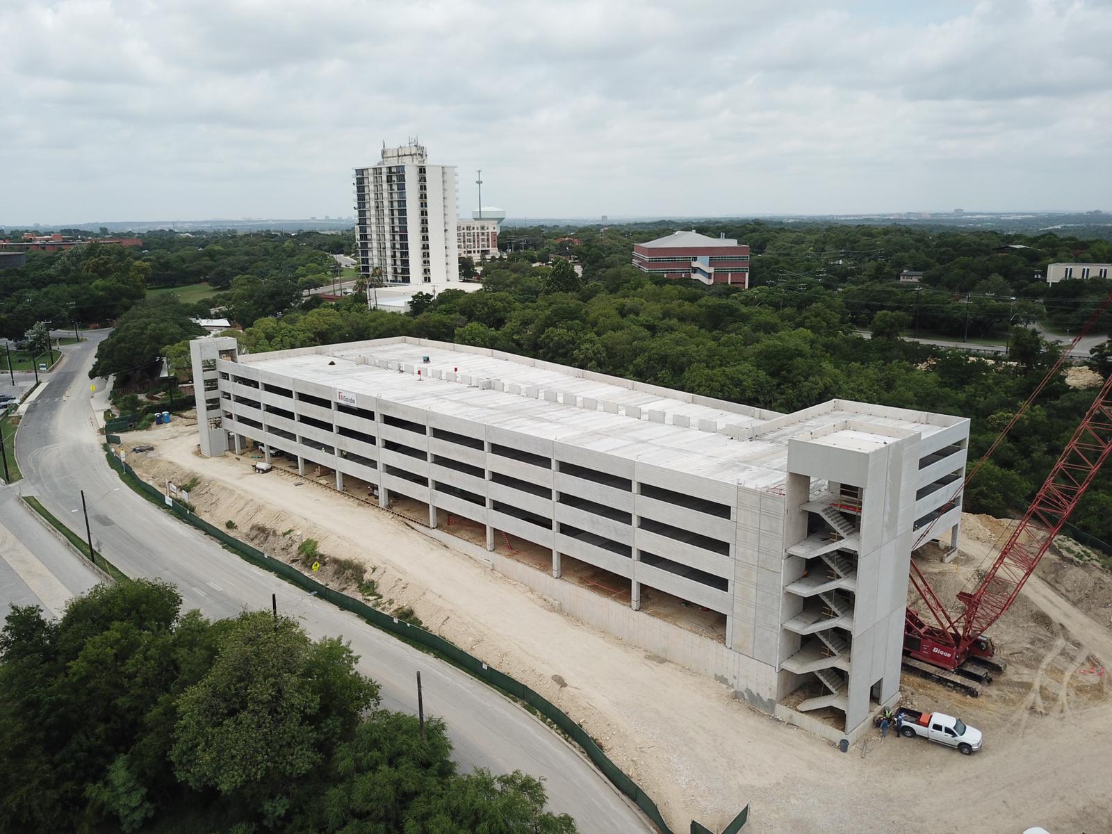 Photos show progress of new San Antonio Zoo parking garage