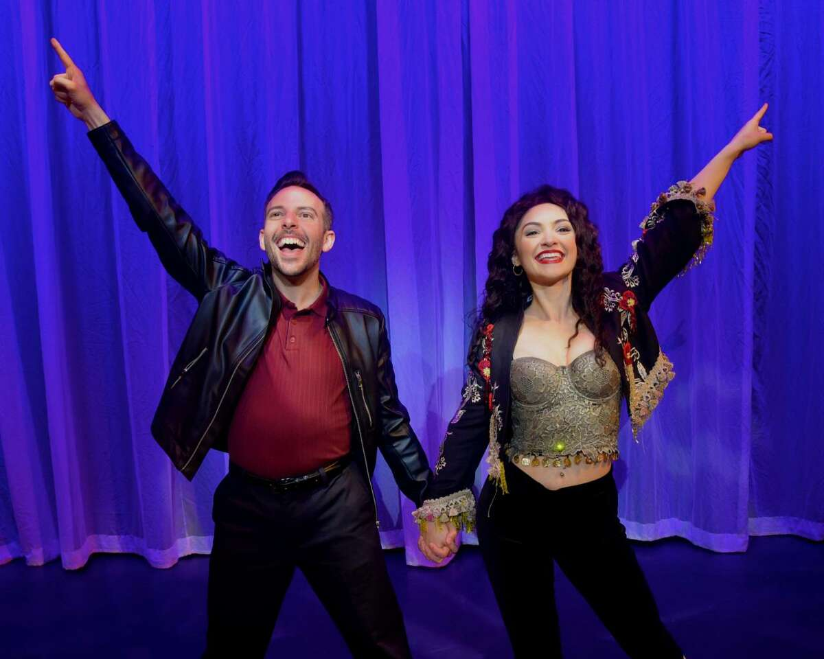 Jose Luaces and Maria Bilbao appear as Emilio and Gloria Estefan in